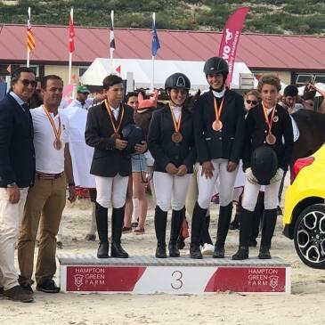Amaia Martínez, medalla de bronce en el Campeonato de España de Ponis CCE por equipos