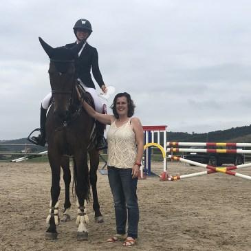 Paula Azofra suma el mejor tiempo del PGP del CSN 2* Equus Gornazo