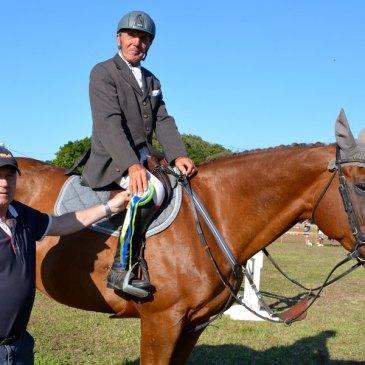 Herve Duhaut, vencedor del Gran Premio del CSN 2* Isla