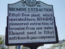 Dow - Bromine Extraction plant