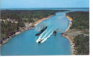 The Swing Bridge at Snow's Cut 1931-1962