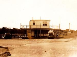 Fort Fisher Fishing Pier 1936-1954.