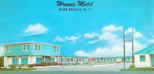 The Sand Castle Inn in it's previous incarnation as <br /> Wrenn's Motel