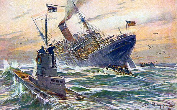 U-boats along the NC Coast