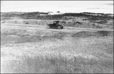 Auto at Fort Fisher