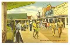 532 Postcard - Boardwalk