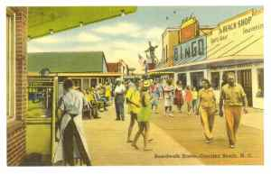 532 Postcard - Boardwalk