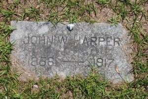 Capt John Harper - Gravestone