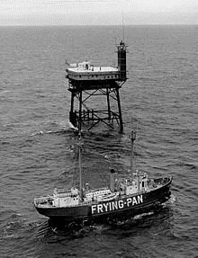 Frying Pan Tower and Lightship