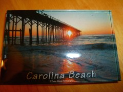 Magnet - Carolina Beach Pier.