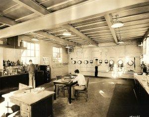 Control Room & Lab (Monroe Shigley in center)