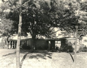 Plant Manager's House at plant