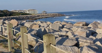 3,200-foot seawall completedat Fort Fisher Museum