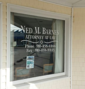 Ned Barnes office