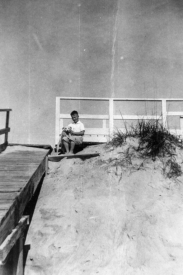 Backyard Beach Hill before Hazel 1952-53