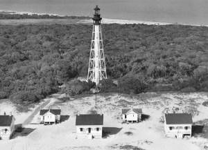 Cape Fear Lighthouse 1903-1958 Bald Head Island