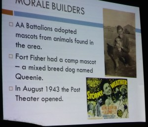 Fort Fisher Morale Boosters