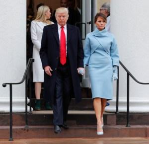 President Donald Trump, First Lady Melaina Trump