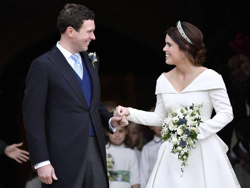 APTOPIX Britain Royal Wedding 81363 - UK viewership up for Princess Eugenie wedding coverage