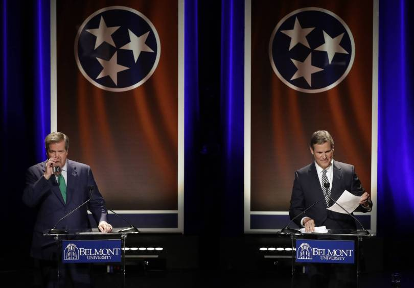 Election 2018 Tennessee Governor Debate 43780 - Tennessee governor candidates remain cordial in final debate