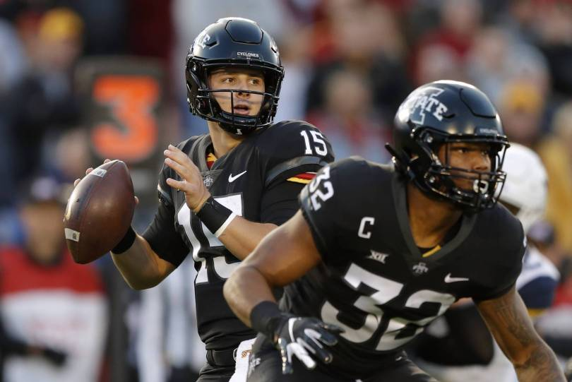 West Virginia Iowa St Football 10826 - Iowa State throttles No. 6 West Virginia 30-14
