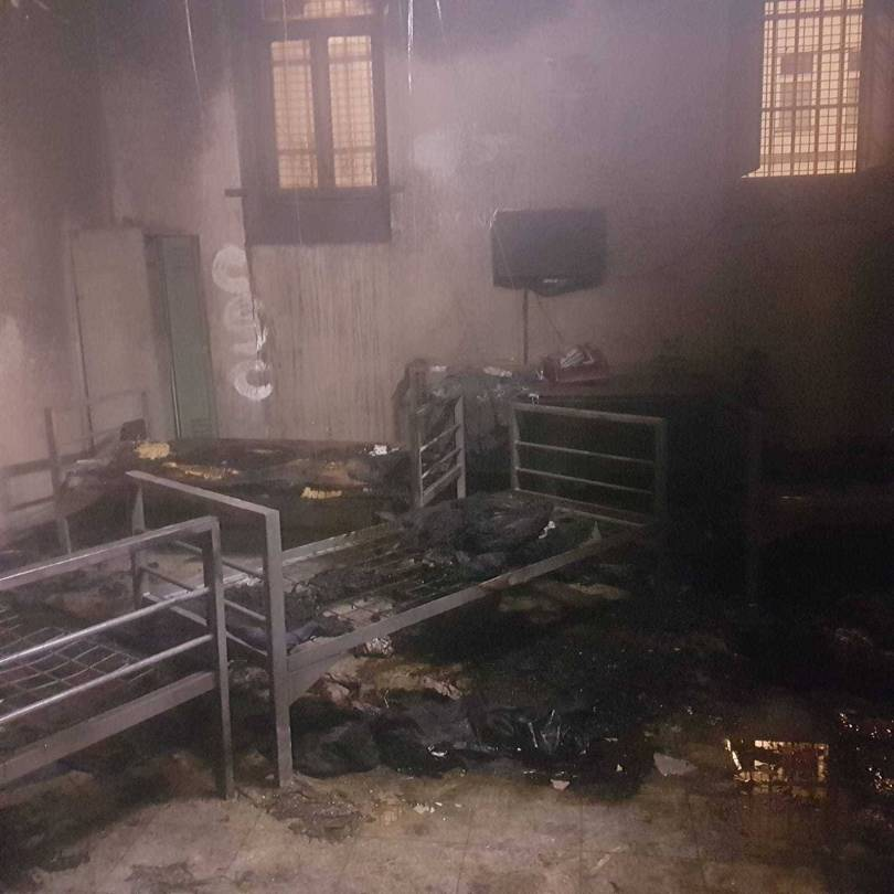 Austria Europe Migrants 80227 - Austria: 6 deportees set fire to cell, leave farewell note