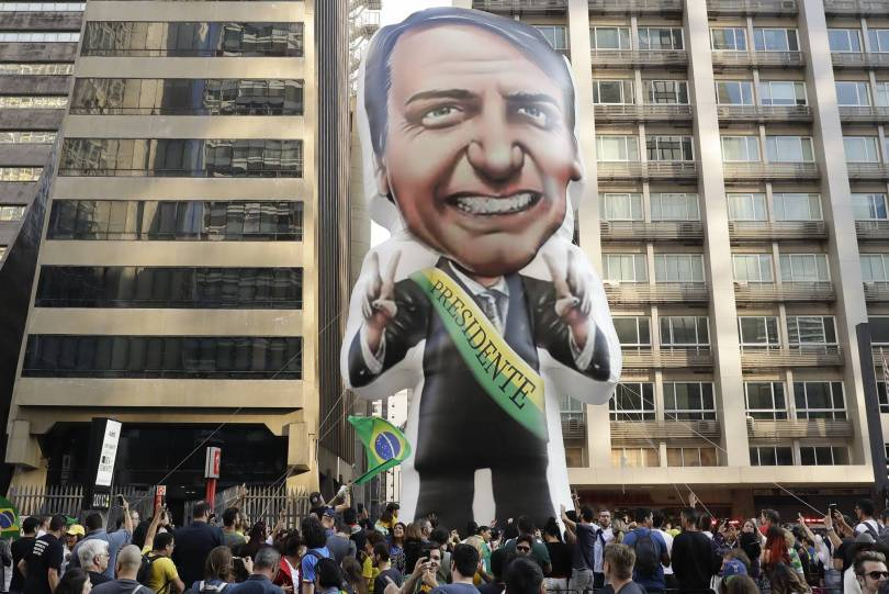 Brazil Evangelical Voters 47733 - Brazil backlash as footballers back far-right poll candidate