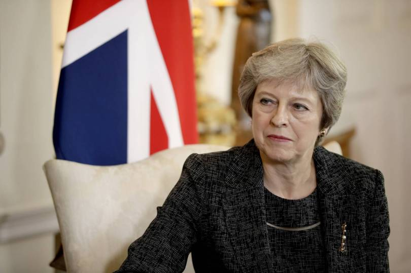 Brexit 54345 - UK leader: Talk of leadership during Brexit 'irritating'