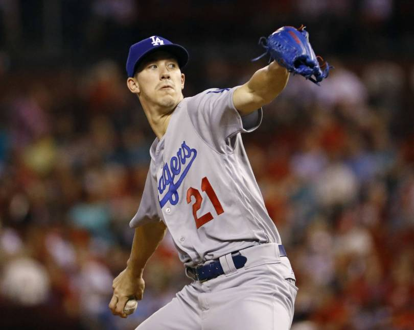 Dodgers Cardinals Baseball 74102 - Buehler, Dodgers blank Cards to draw even in wild-card race