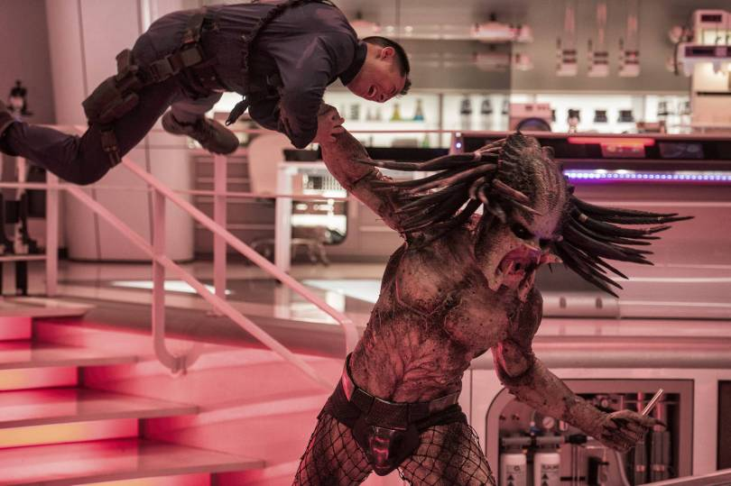 Film Box Office 49167 - 'The Predator' gobbles up competition at box office