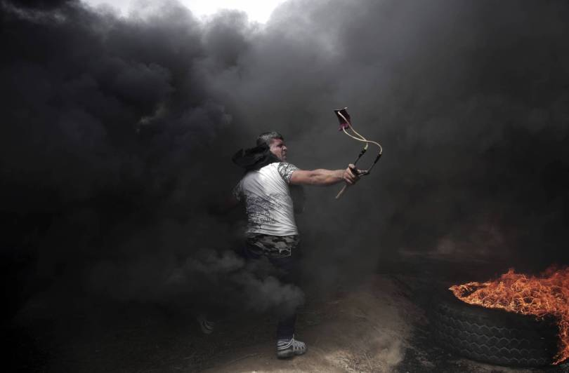 Gaza Photo Exhibition Photo Essay 60117 - AP PHOTOS: Gaza images on display in France show resilience