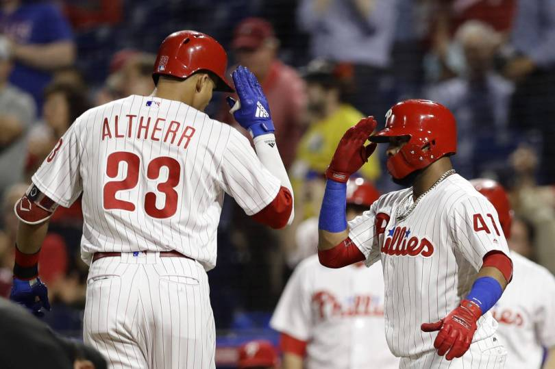 Marlins Phillies Baseball 27927 - Altherr powers Phillies past Marlins 14-2