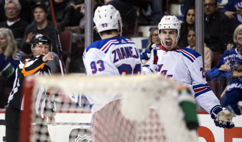 Rangers Canucks Hockey 89631 - Youthful Rangers focused on getting better after changes