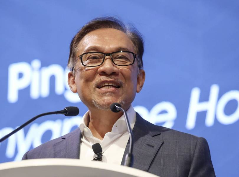Singapore Anwar 75462 - Malaysia's Anwar confident PM handover will go as planned
