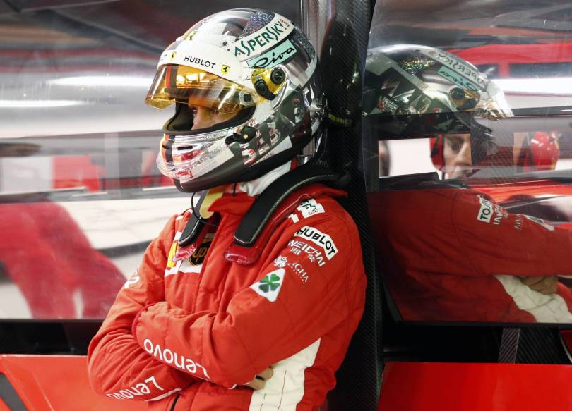 Singapore F1 GP Auto Racing 19355 - Vettel concerned by Ferrari after losing pole to Hamilton