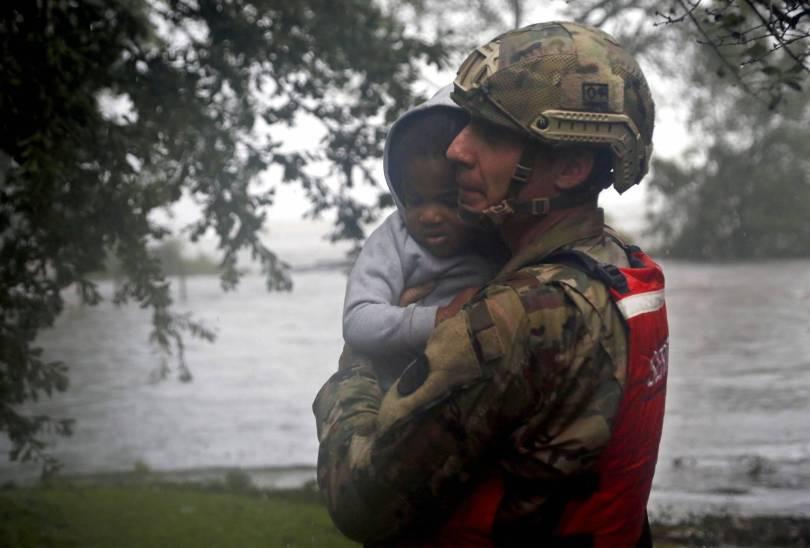 Tropical Weather North Carolina 50131 - The Latest: Slow moving Florence terrorizing Carolinas
