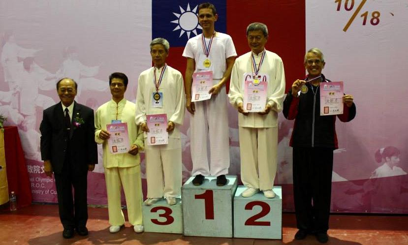Louis Plaud médaille d'or à la forme 37 pas CMC – à Taipei Arena 台北小巨蛋.