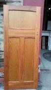 Polished internal bungalow door 835 x 2020mm $220
