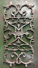 Cast iron balustrading / decorator panels $75 each