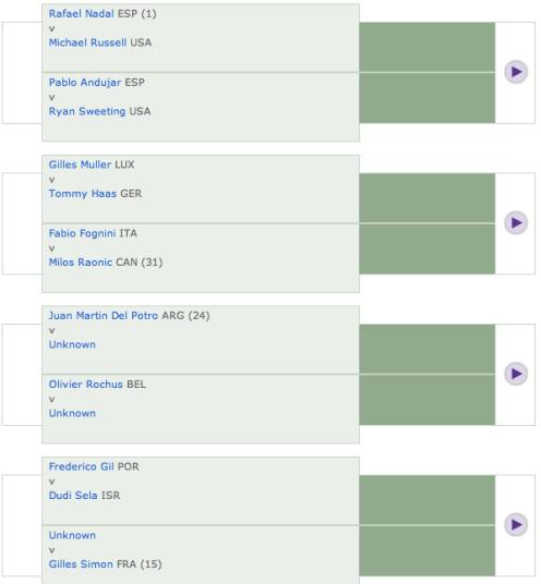 Wimbledon 2011 draw 1