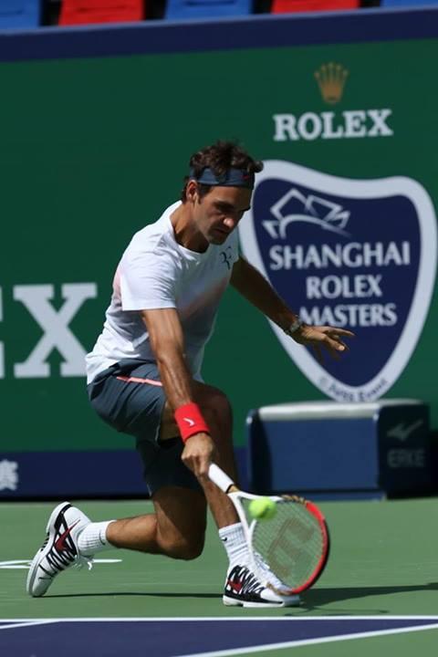 Federer Shanghai