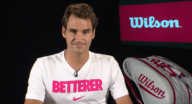 Federer Wilson US Open 2014 interview