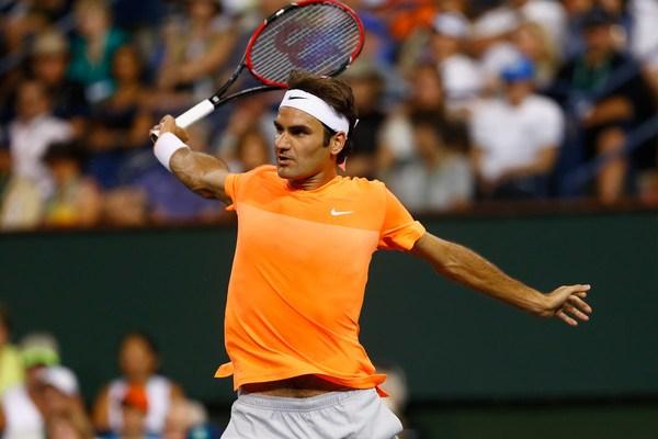Roger Federer Indian Wells