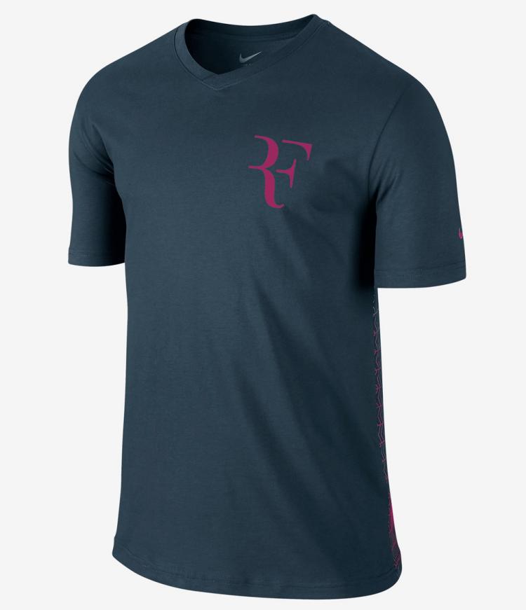 Federer Cincinnati 2015 Nike RF Shirt