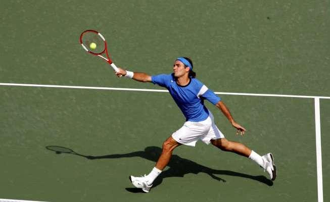 Roger Federer 2004 US Open