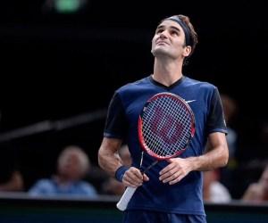Roger Federer 2015 Paris Masters