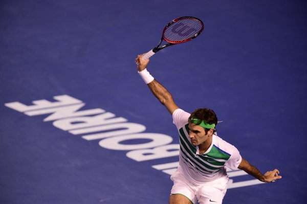 Roger Federer 2016 Australian Open Fourth Round