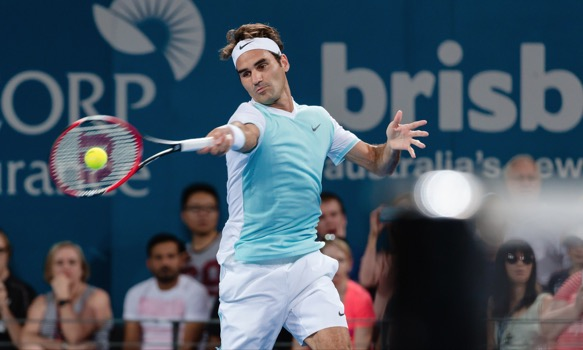 Roger Federer faces Grigor Dimitrov at the 2016 Brisbane International