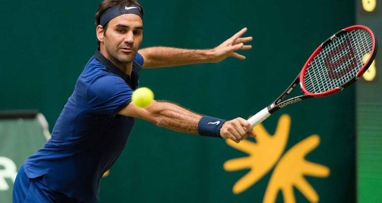 Roger Federer Halle 2016