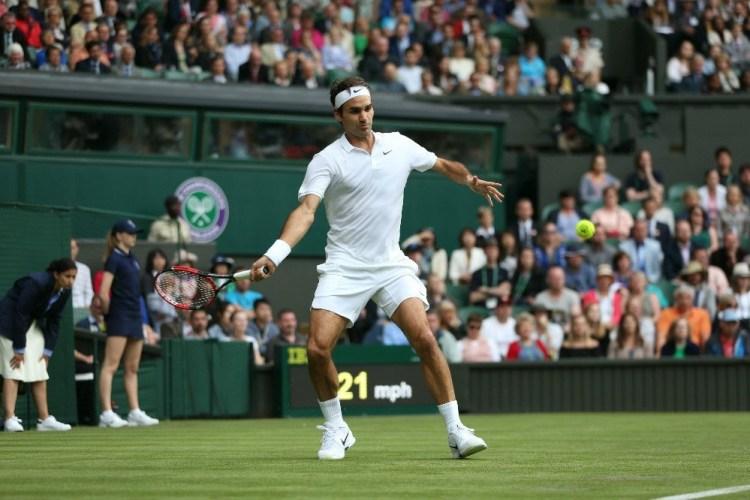 Roger Federer Wimbledon 2016